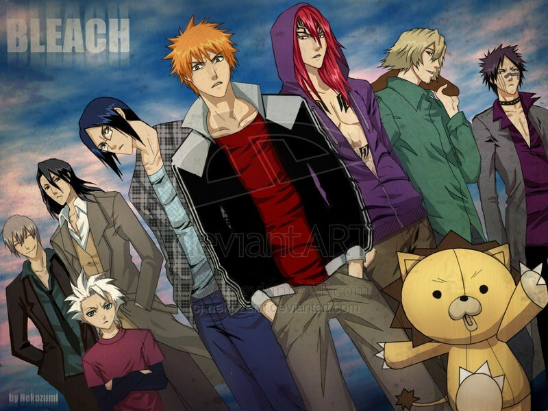 BLEACH___Boys_by_nekozumi