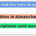 Trail des forts 2012