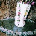 Vase en porcelaine froide