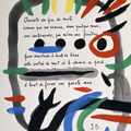 'Miró – <b>Dupin</b>. Art and Poetry' @ The Joan Miró Foundation