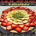 Tarte pâtissière aux fruits