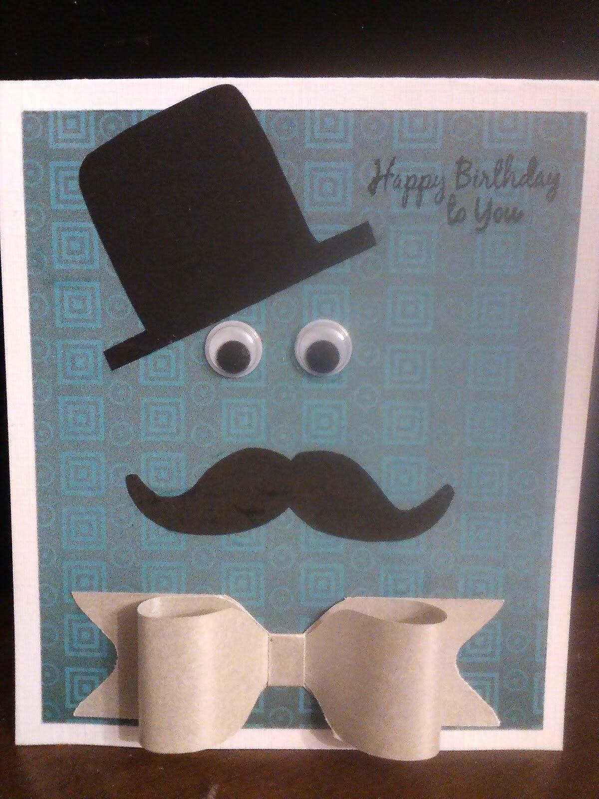 Carte anniversaire pour homme