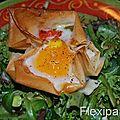 Mes œufs flexi-cocottes!!!