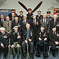 Les veterans du yorkshire decore de la legion d'honneur