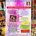 Oficina de <b>Arteterapia</b> em Cagnes-sur-Mer (06) / Atelier d'art-thérapie: Mandala et Culture des Indiens du Brésil