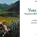 Exposition des tableaux d'yves gobart