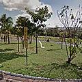 Rond-point à Uberlândia (Brésil)