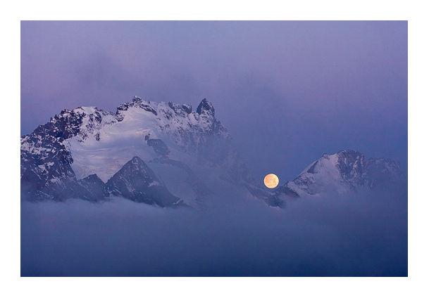 Coucher de lune 2 © Tous droits réservés.
