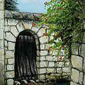 0125 la vieille porte pastelcard 30x40 déc 13