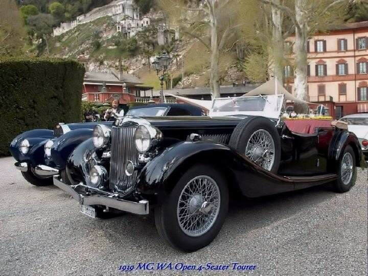 1939 - MGWA Open4 Seater Tourer