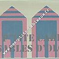 Ma ptite cabine aux Sables Coloris Rose et Bleu