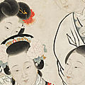 The collections of two female Chinese-American entrepreneurs offered at Bonhams