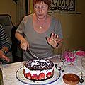 Gâteau façon forêt noire