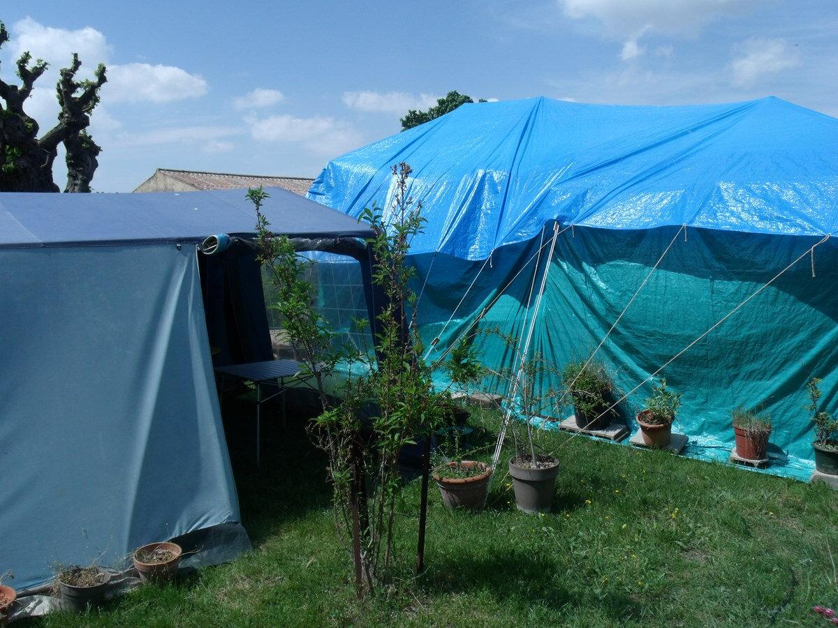 Ciné sous la tente. Les photos.