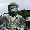 Daibutsu, le bouddha assis de kamakura (japon)
