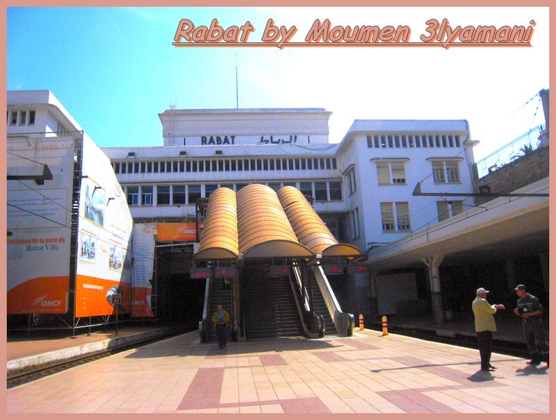 Modernisation de la gare de Rabat ville