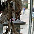 Tribu sioux, micro-nacres, et crochet ... les
