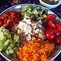 Ma salade de septembre