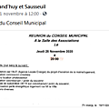 Commune d'Alland'huy et Sausseuil