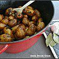 Pommes de terre grenaille au balsamique