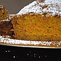 Carrot cake ou gateau aux carottes