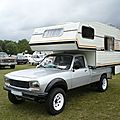 PEUGEOT 504 pick-up Dangel camping car 1984 Madine (1)