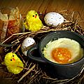 Bataille food #22 - oeufs cocotte