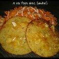 Galette de pomme de terre au saumon