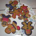 Gingerbread man (petit bonhomme de pain d'épices)