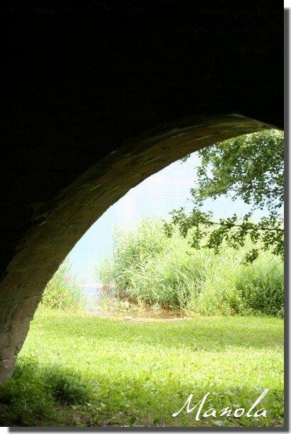 vue sur le lac d'Aix les Bains