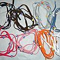 Oeil 'porte-bonheur' 4-en-1 -bracelet/collier/headband/ceinture