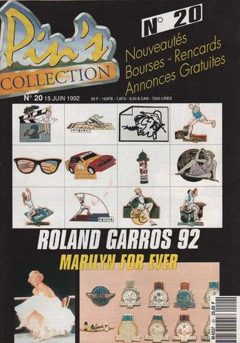 Pin's collection 1992