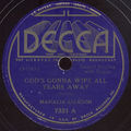 DISC : God's gonna wipe all tears away - Oh my Lord [1937] 2t
