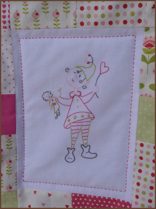 broderie couette
