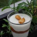 Variation autour de la panna cotta, verveine et fruits d'été