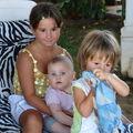 Alicia et ses cousins Giorgia et Francesco