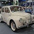 RENAULT 4CV Grand Luxe découvrable 1952 Besançon (1)