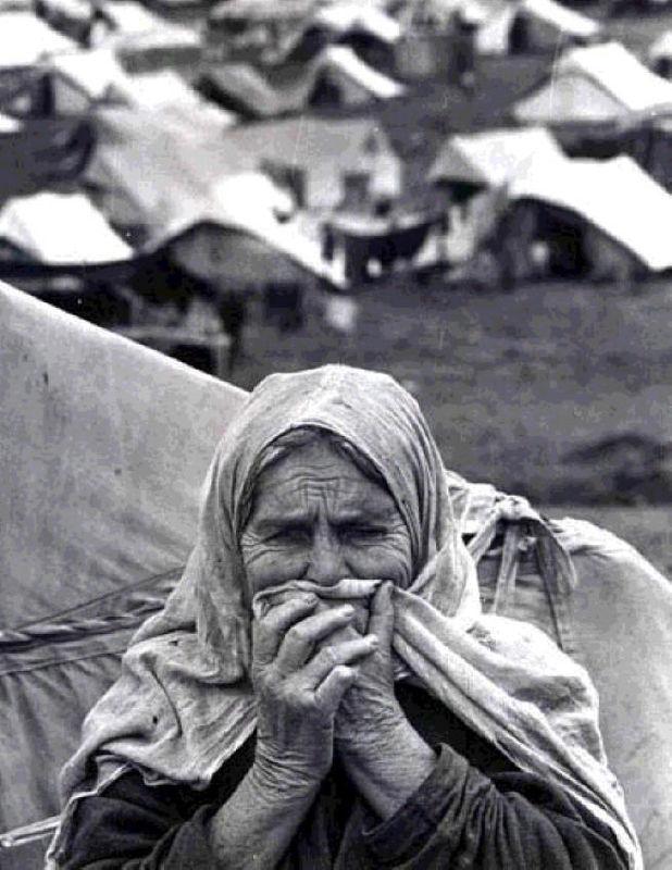 Palestinian Old Refugee (NAKBA)
