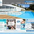 Nouveau site de la fédération des professionnels de la piscine