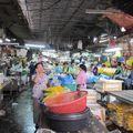 Bangkok - le marché aux fleurs coupées