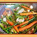 Cocotte de légumes primeurs
