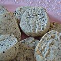 Biscuits au thé à la bergamote