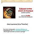 cabaret/<b>scène</b> <b>ouverte</b> chez Laurence à la Tronche