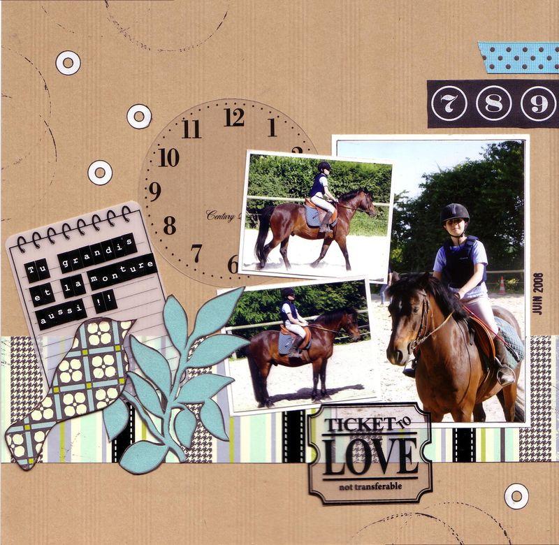 Mathilde equitation