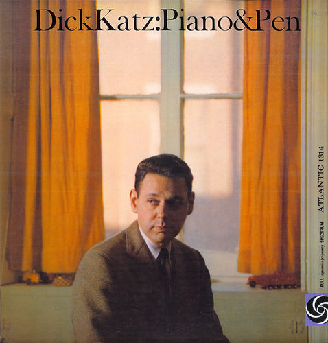 Dick Katz - 1960 - Piano & Pen (Atlantic)
