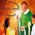 YV-12 juin 2016-entrées en eucharistie-Le Doulieu
