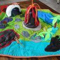 tapis de jeux, de voyage, foldingo, fold and go