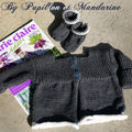Premier tricot pour bébé...