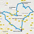 Vélo route la Madeleine