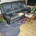 Le canapé en cuir - le retour